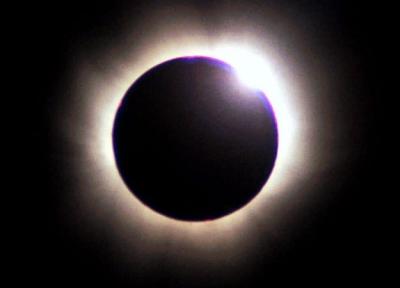 خورشید گرفتگی و ماه گرفتگی دو نشانه از نشانه های قدرت الله عزوجل